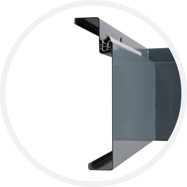 Profil ocelové zárubně