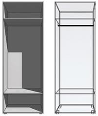 Konstrukce skříní Exclusive